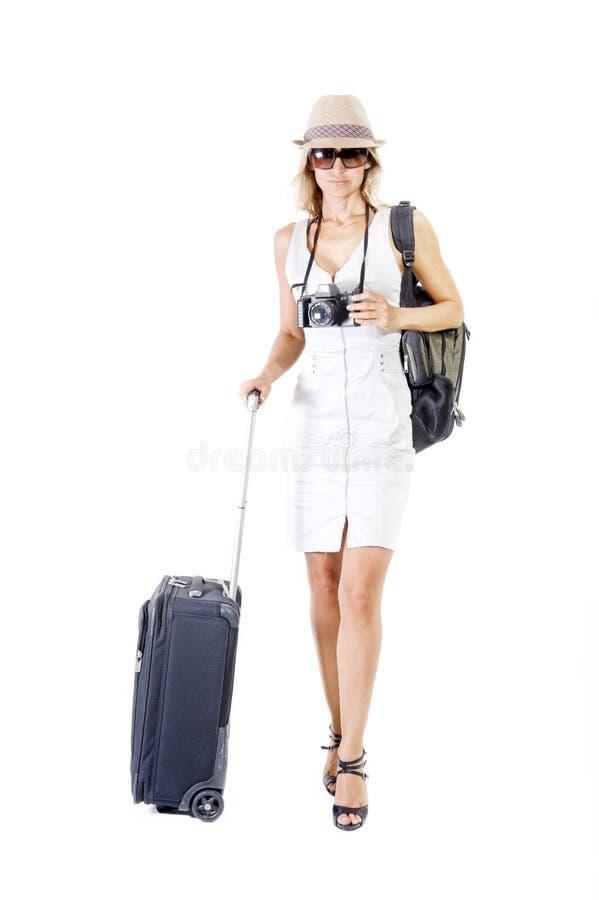 Mujer que viaja imágenes de archivo libres de regalías