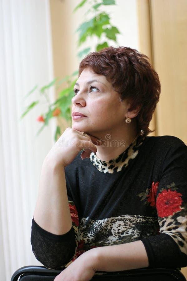 Mujer rusa imagenes de archivo