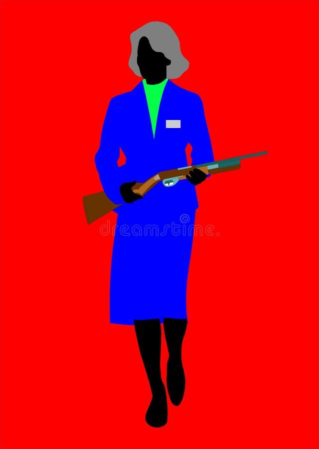 Mujer secreta libre illustration