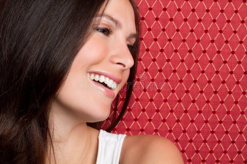 Mujer sonriente bonita fotos de archivo