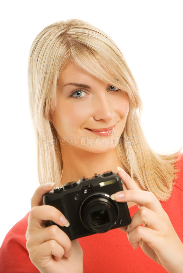 Mujer sonriente hermosa imágenes de archivo libres de regalías