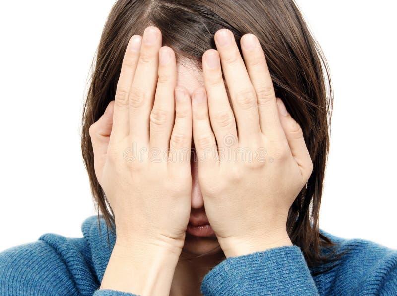 Mujer triste fotos de archivo libres de regalías