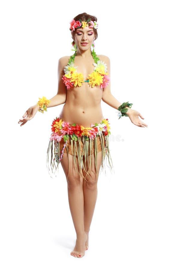 Mujer tropical imágenes de archivo libres de regalías