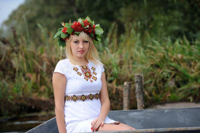Mujer ucraniana imágenes de archivo libres de regalías