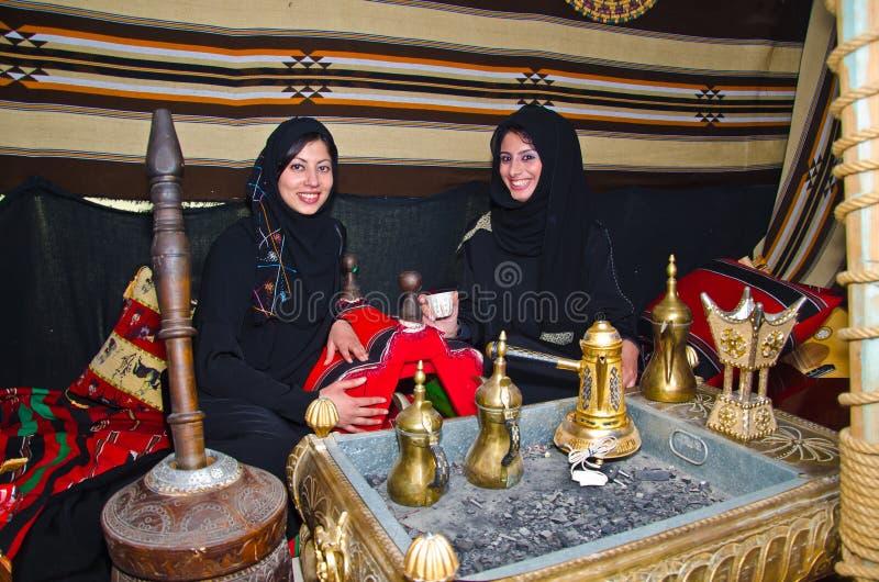 Mujeres árabes foto de archivo