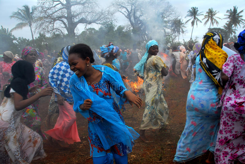 Mujeres africanas fotografía de archivo libre de regalías