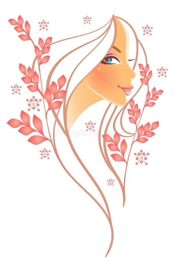 Mujeres de la elegancia stock de ilustración