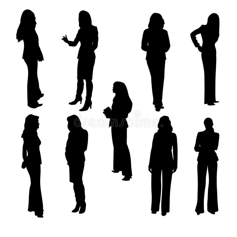 Mujeres de negocios ilustración del vector