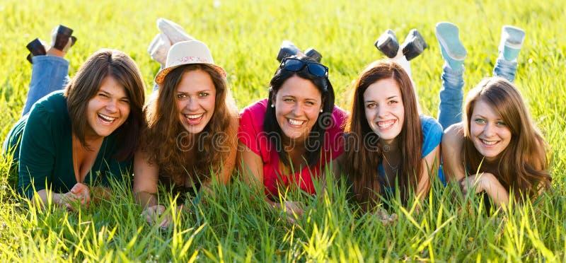 Mujeres de risa foto de archivo