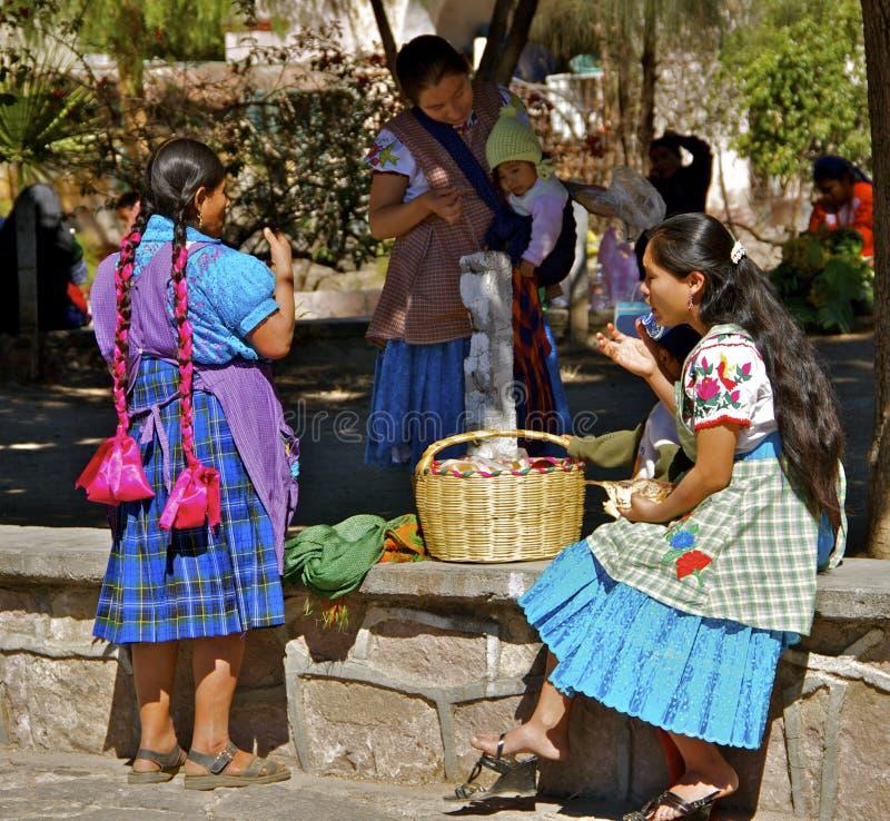 Mujeres de Zapotec fotografía de archivo libre de regalías
