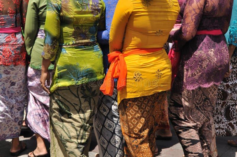 Mujeres del Balinese imagen de archivo