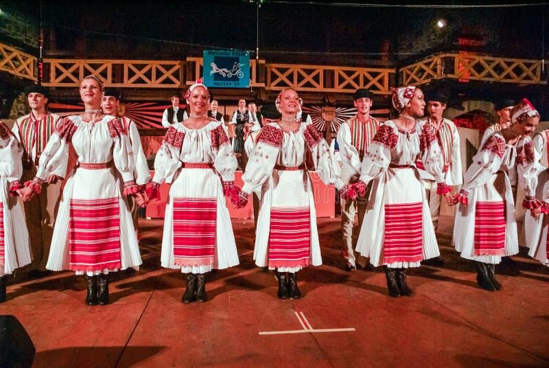 Mujeres en el ¡ov de HruÅ en Eslovaquia imagen de archivo