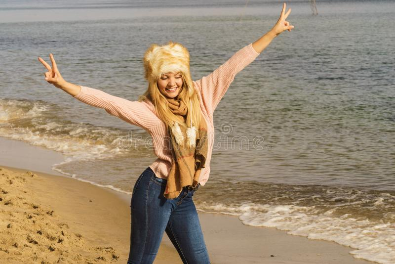 Mujeres felices fotografía de archivo libre de regalías