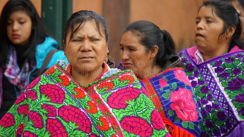 Mujeres mexicanas foto de archivo