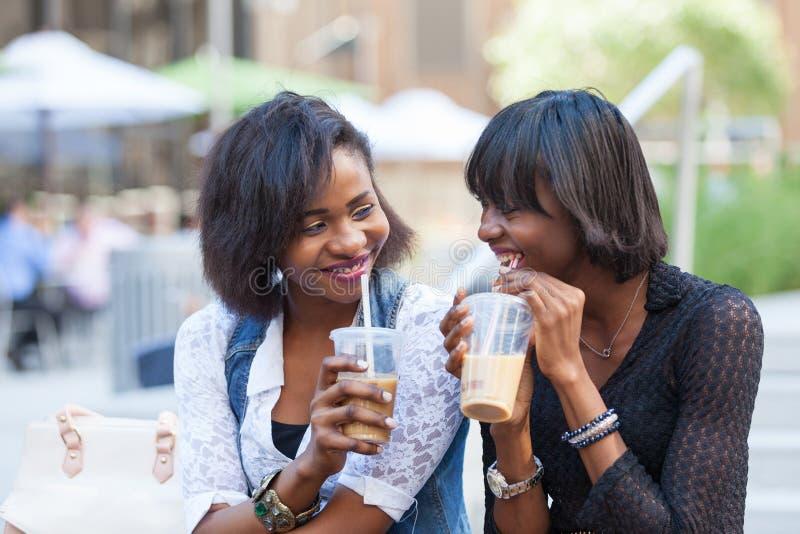 Mujeres negras en Nueva York foto de archivo
