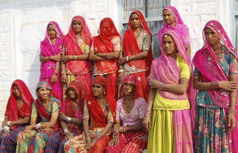 Mujeres rurales imagen de archivo