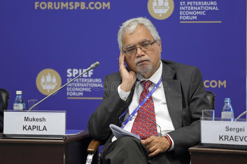 Mukesh Kapila imagem de stock