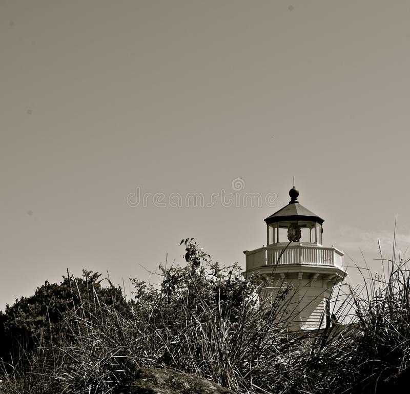 Mukilteo latarnia morska fotografia royalty free