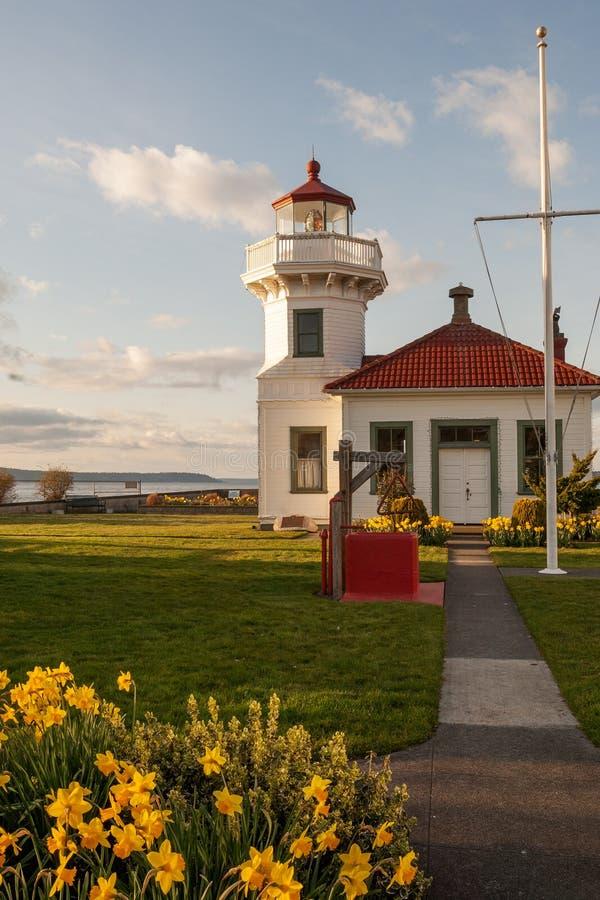 Mukilteo lighthouse royalty free stock image