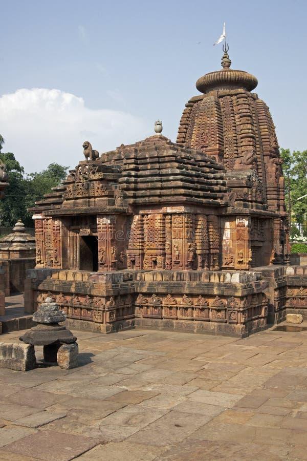 mukteshvara寺庙 免版税图库摄影
