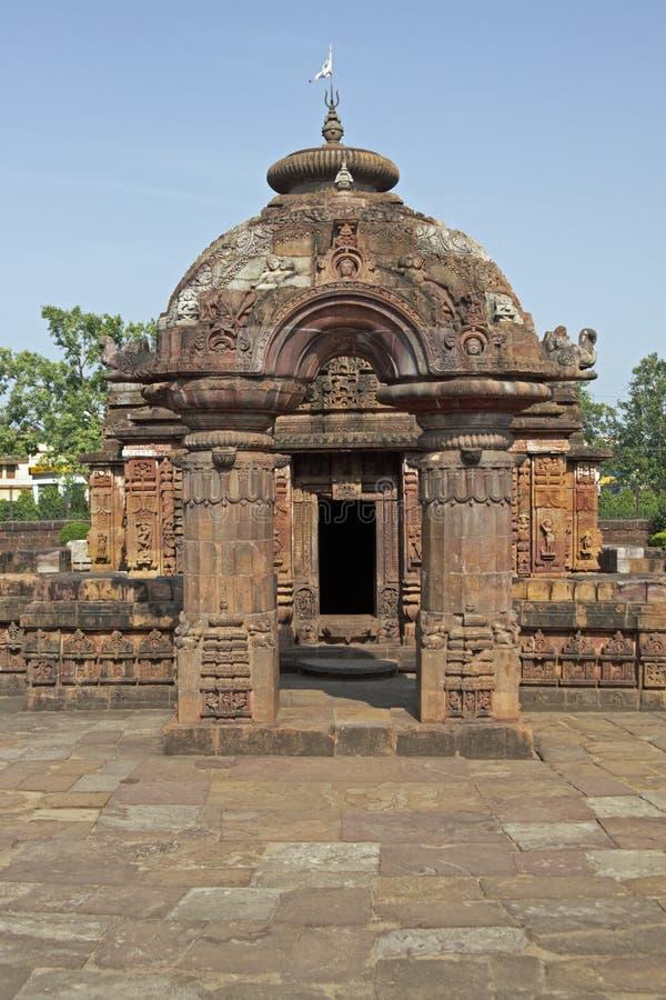 mukteshvara寺庙 图库摄影