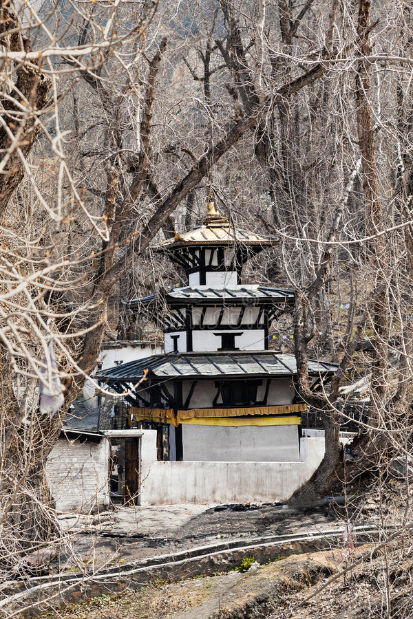 Muktinath-Tempel stockfoto