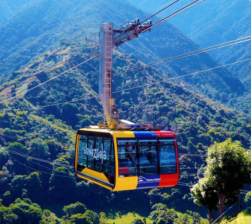 Free Mukumbari Cable Car System Cabin In Venezuela Royalty Free Stock Image - 117856206