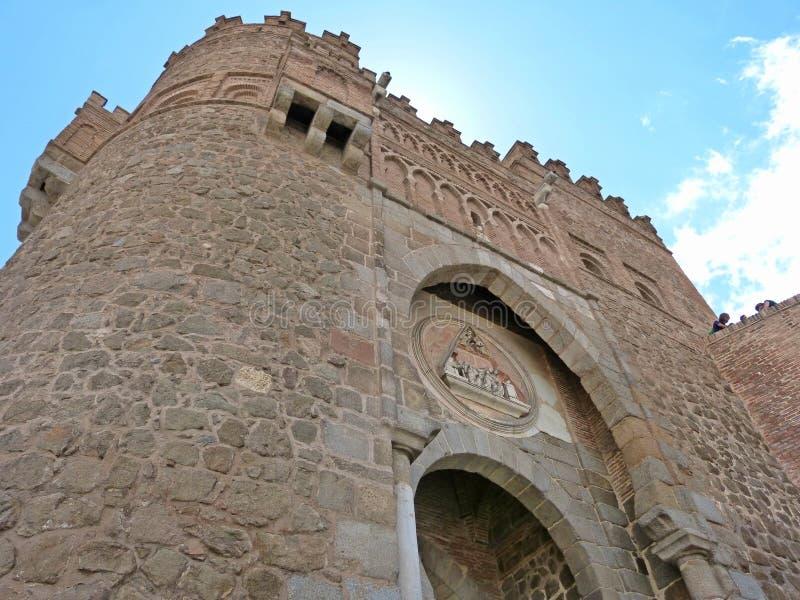 Mular市在托莱多España 免版税库存图片