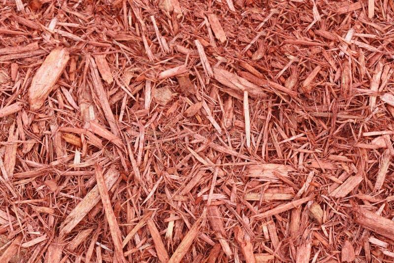 Mulch do jardim imagens de stock