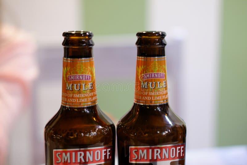 Mule de Smirnoff photographie stock