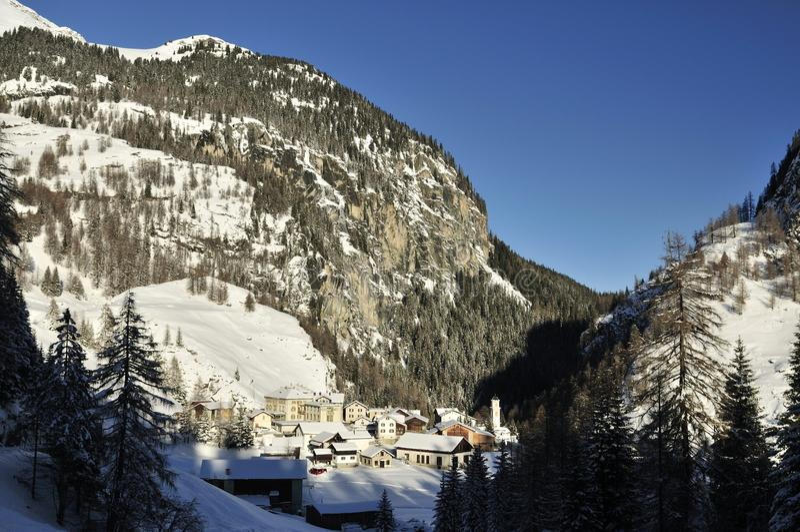 Mulegns, Albula Alpen, Switzerland royalty free stock images