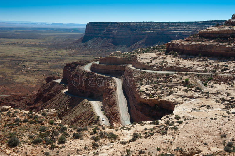 Muley punkt Utah arkivbild