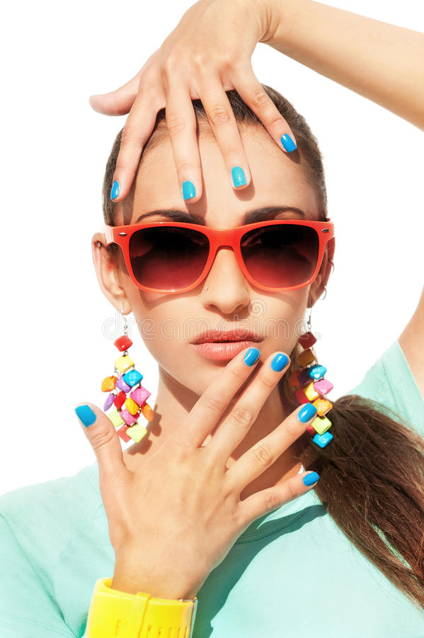 Mulher à moda fotos de stock royalty free