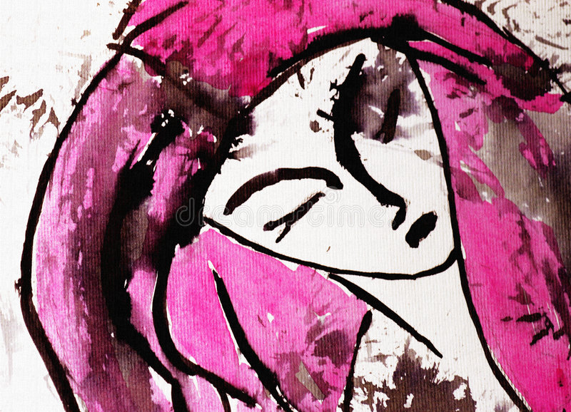 Download Mulher ilustração stock. Ilustração de grace, figuras, desenho - 109769