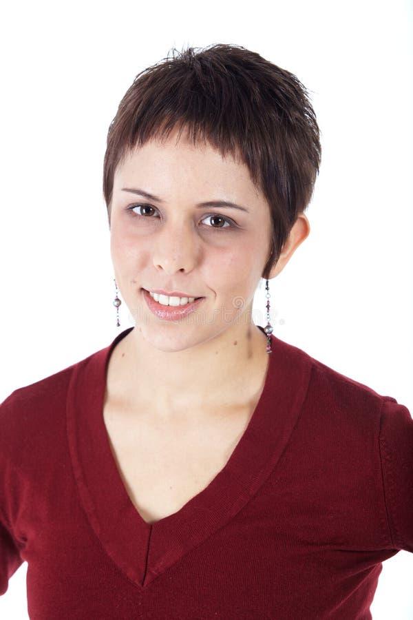 Mulher adulta nova fotografia de stock