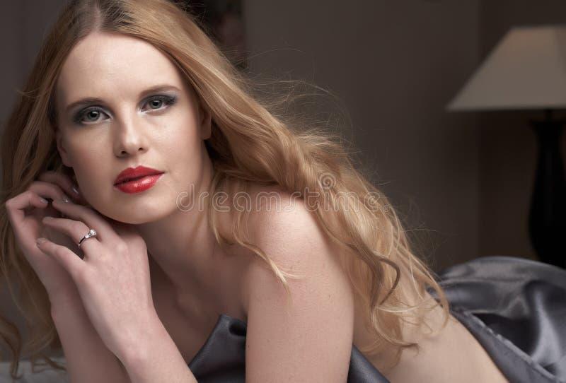 Mulher adulta 'sexy' imagens de stock