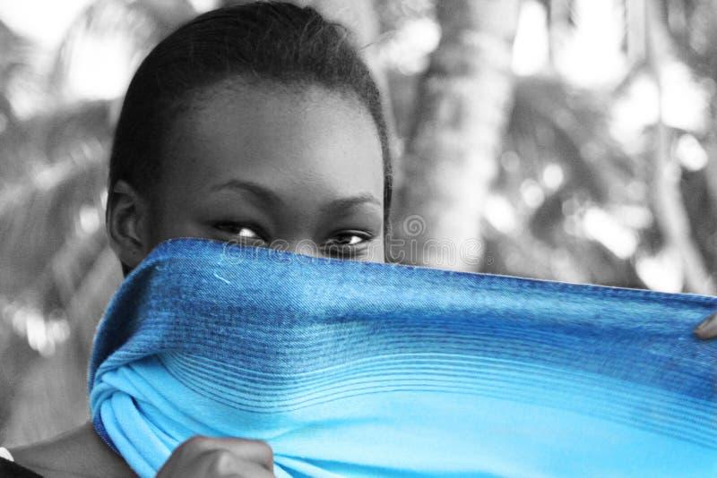 Mulher africana fotografia de stock