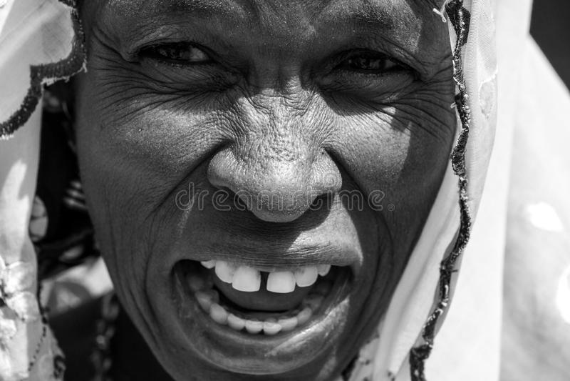 Mulher africana imagens de stock