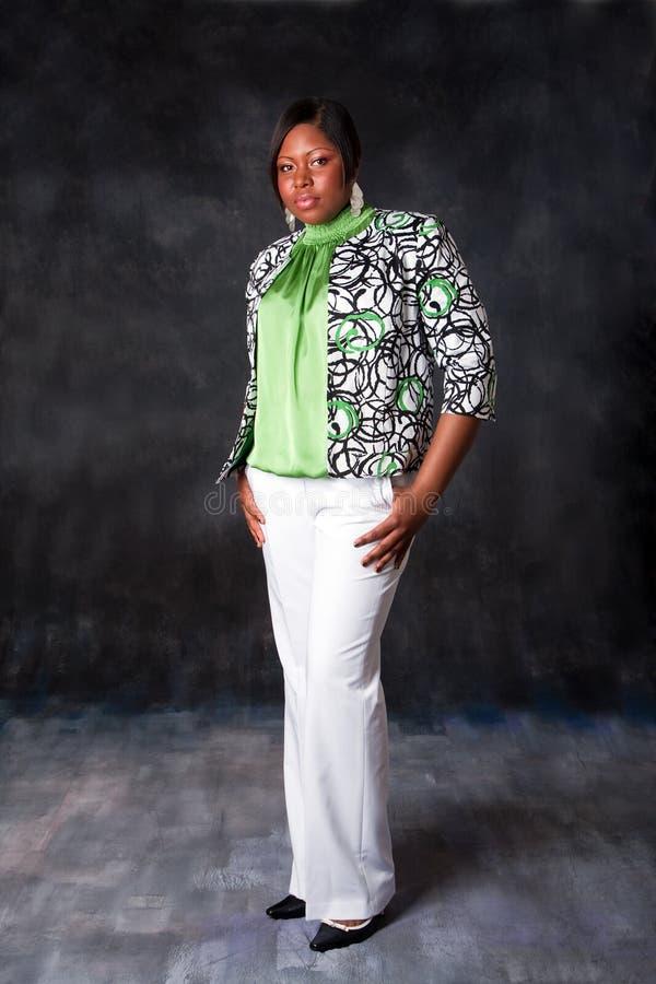 Mulher africana bonita fotos de stock