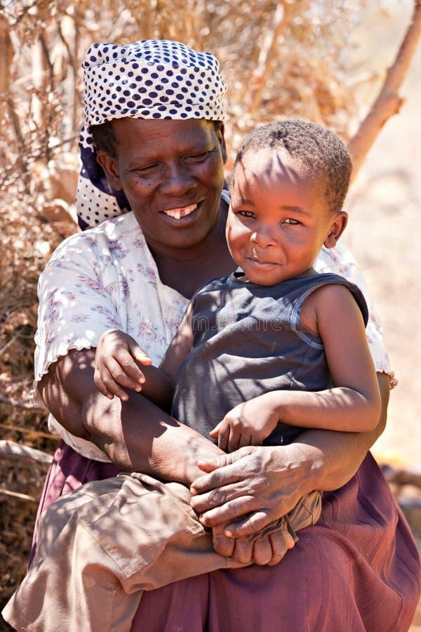 Mulher africana sênior foto de stock