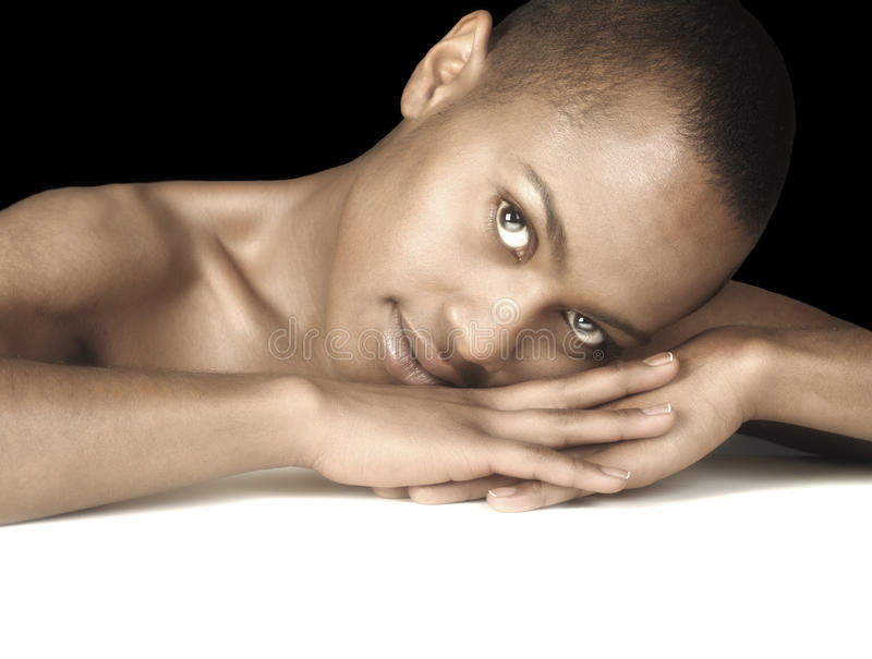 Mulher afro-americana imagens de stock royalty free