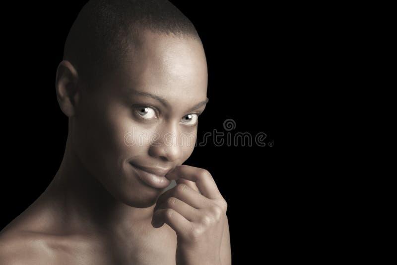 Mulher afro-americana fotos de stock royalty free