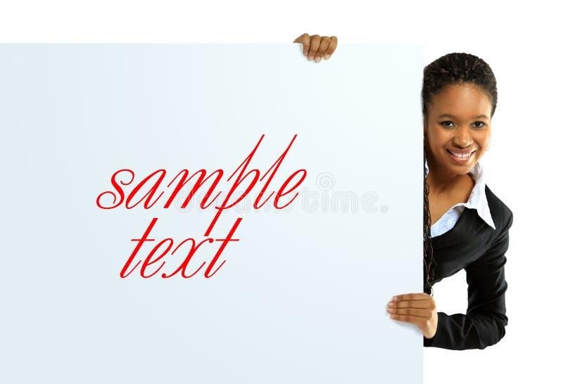 Mulher americana africana foto de stock royalty free