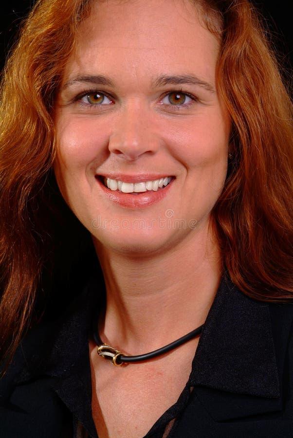 Mulher amigável imagem de stock royalty free