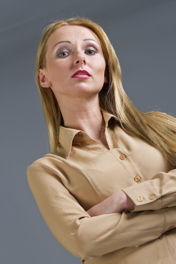 Mulher arrogante imagens de stock