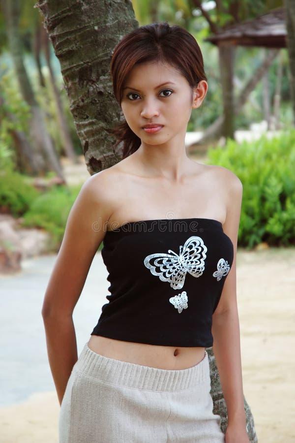 Download Mulher asiática imagem de stock. Imagem de consideravelmente - 107707