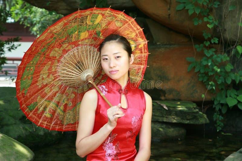 Mulher asiática imagem de stock