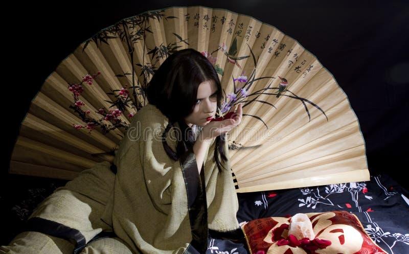 Mulher asiática fotos de stock royalty free