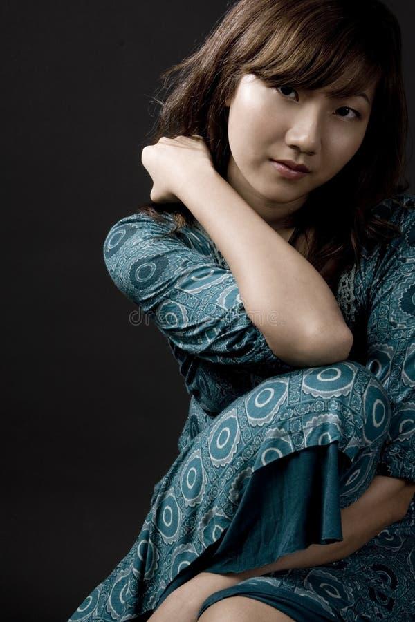 Mulher asiática imagem de stock royalty free