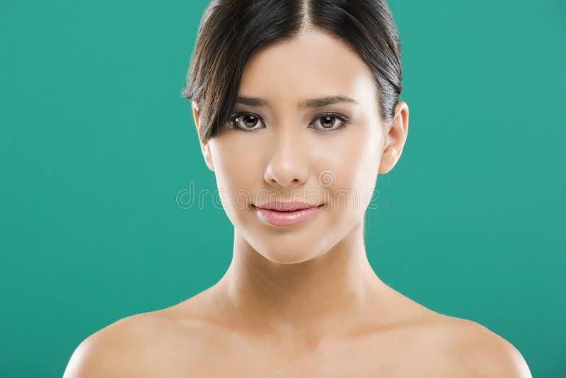 Mulher asiática bonita foto de stock royalty free
